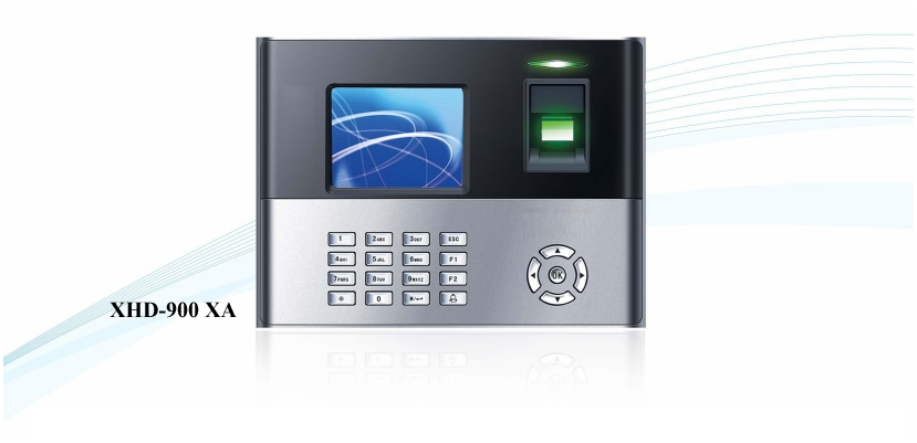 : xhd900-xa-time-attendance-access-control-system